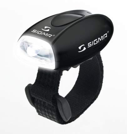 Велосипедный фонарь передний Sigma Micro черный