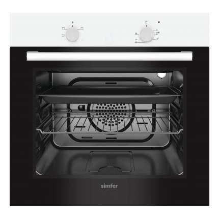 Встраиваемый электрический духовой шкаф Simfer B6EW04000 White