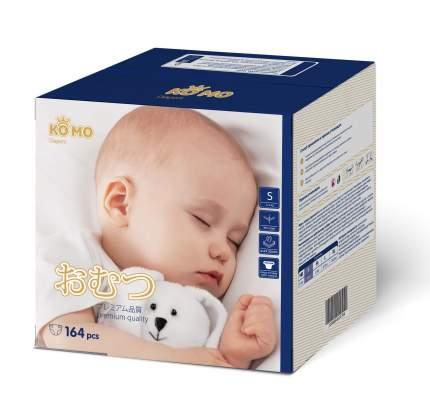Подгузники для новорожденных Ko Mo S (3-6 кг) 164 шт.