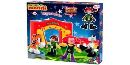 Магнитный конструктор PLASTWOOD  Piccoli Mondi Super Circus, цвет: Playset 0533