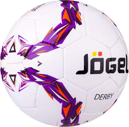 Футбольный мяч Jogel JS-560 Derby №3 white/violet