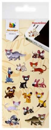 Наклейка декоративная Липляндия Кошки и Собаки 1577