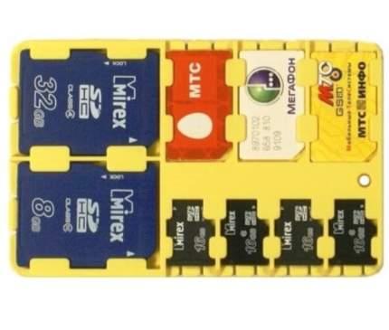 Держатель для телефонных СИМ-карт и карт microSD и SD-SIM Holder Yellow
