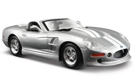 Машинка Maisto 1:24 Shelby Series One 1999, серебристая