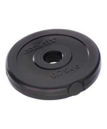 Диск для штанги Starfit BB-203 0,75 кг, 26 мм