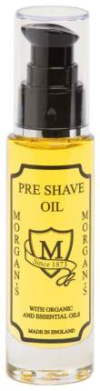 Масло для бритья Morgan's Pre-Shave Organic 50 мл