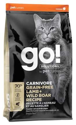 Сухой корм для кошек и котят GO! Carnivore, беззерновой, с ягненком и кабаном, 7,26кг