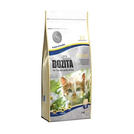 Сухой корм для котят, беременных и кормящих кошек BOZITA Feline Kitten, лосось, 1,7кг+300г