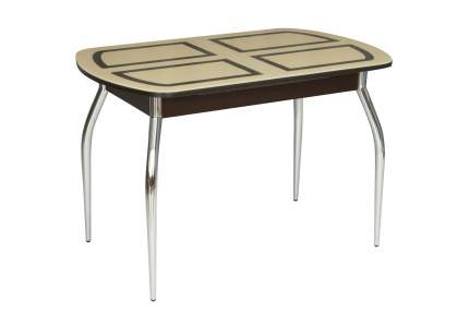 Кухонный стол Hoff 70х110х75 см, серебристый