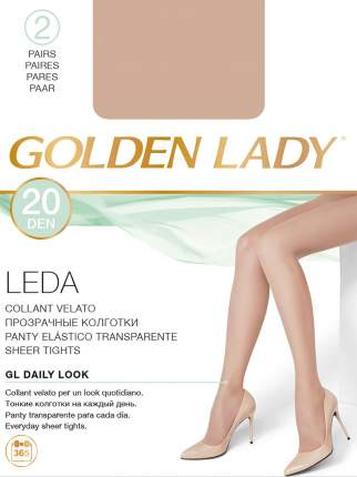 Колготки Golden Lady LEDA 20, daino gld, 2/S