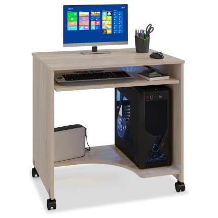 Компьютерный стол СОКОЛ бежевый