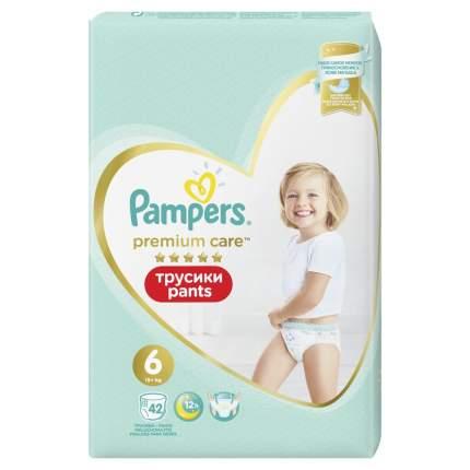 Трусики Pampers Premium Care 15+ кг, размер 6, 42 шт.