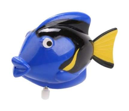 Заводная игрушка Аквариус - Рыбка, синяя