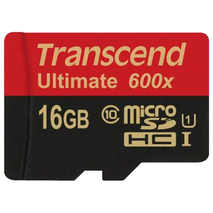 Карта памяти Transcend Micro SDHC Ultimate TS16GUSDHC10U1 16GB