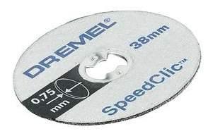 Отрезной диск по камню для угловых шлифмашин DREMEL 2615S409JB