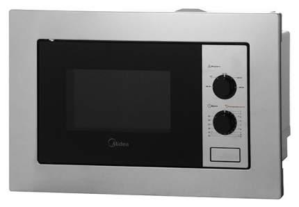 Встраиваемая микроволновая печь с грилем Midea MM820B2Q-SS Серебристый