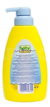 Гель для купания babyline с мятой и солодкой для детей с первых дней жизни, 500 мл