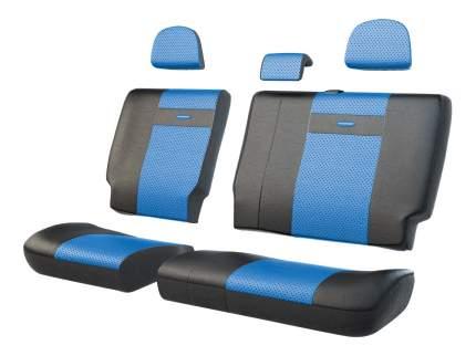 Комплект чехлов на сиденья Autoprofi TRS-002 BK/BL