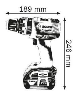 Аккумуляторная дрель-шуруповерт Bosch GSB 18 V-EC 06019D7100 БЕЗ АККУМУЛЯТОРА И З/У