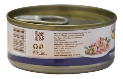 Консервы для кошек Мнямс, тунец, дорадо, 24шт по 70г