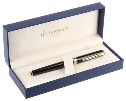 Ручка перьевая Waterman Hemisphere Mars Black GT, 0,5 мм синяя, корпус чёрный/золото
