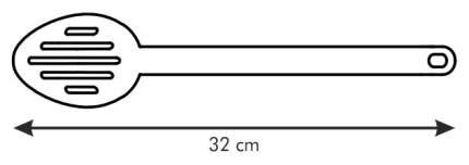 Ложка поварская Tescoma SPACE LINE 638006 Черный