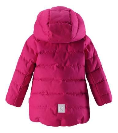Куртка Reima пуховая для девочки Loiste малиновая р.104