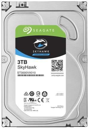 Внутренний жесткий диск Seagate SkyHawk 3TB (ST3000VX010)