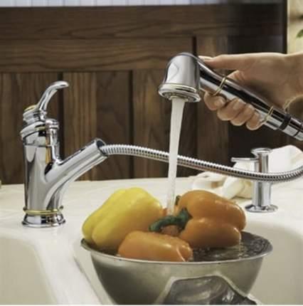Смеситель для кухонной мойки Jacob Delafon Fairfax 051E76091-CP хром