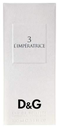 Туалетная вода Dolce&Gabbana L'Imperatrice 3 100 мл