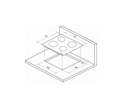 Встраиваемая варочная панель электрическая KUPPERSBERG ECO 601 Black