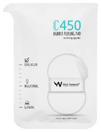 Спонж-пилинг Wish Formula C450 Bubble Peeling Pad (H) с фруктовыми кислотами 30 мл