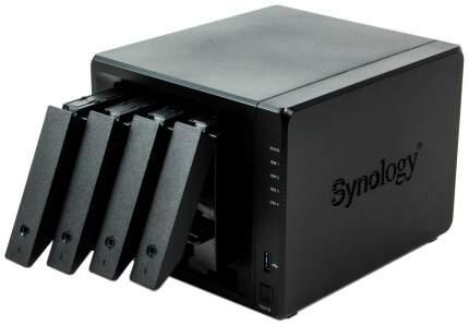 Домашнее хранилище Synology Value DS418 Черный