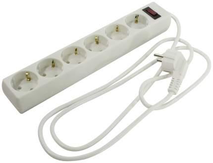 Сетевой фильтр Exegate SP-6-1.8 Белый