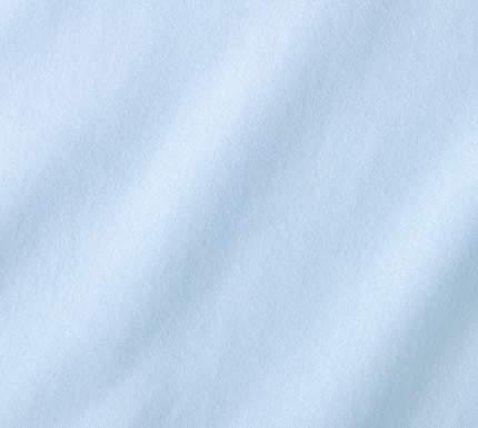 Простыня трикотажная на резинке (небесная) 90х200х20
