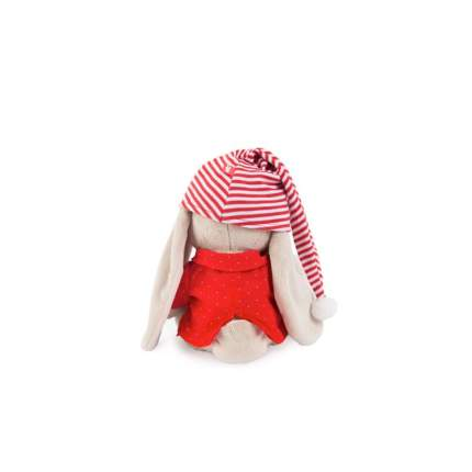 Мягкая игрушка BUDI BASA Зайка Ми в красной пижаме 23 см SidM-158