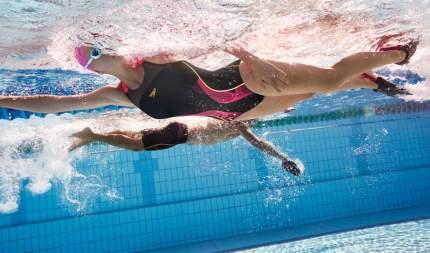 Ласты для плавания Speedo Biofuse Training Fin, размер 47-48, красные