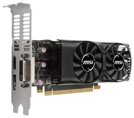 Видеокарта MSI GeForce GTX 1050 Ti (GTX 1050 Ti 4GT LP)