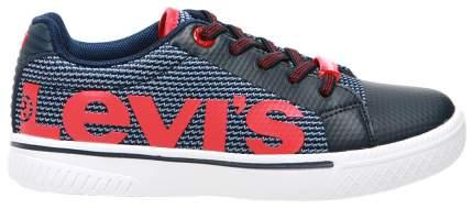 Кеды Levi's Kids navy red 32 размер