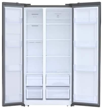 Холодильник SHIVAKI SBS-570DNFX Grey