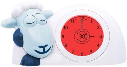 Часы-будильник для тренировки сна Zazu Ягненок Сэм Синий