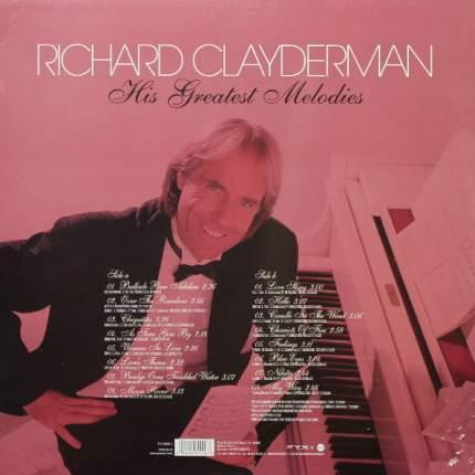 "Виниловая пластинка Richard Clayderman  ""His Greatest Melodies (LP)"""