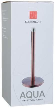 Держатель для полотенец Kuchenland 36 см, Медь, Aqua