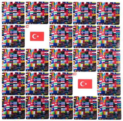 Настольная игра Мемо Флаги, 50 карточек ЛАС ИГРАС