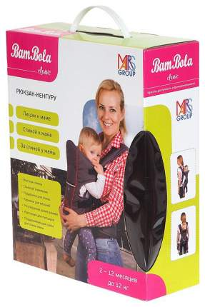 BAMBOLA Рюкзак-кенгуру до 12 кг 1411998