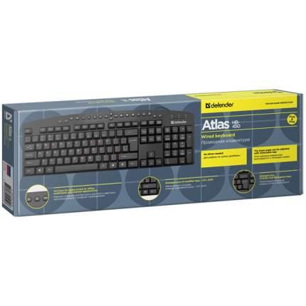 Клавиатура Defender Atlas HB-450 Black