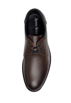 Туфли мужские Alessio Nesca M6208025 коричневые 44 RU