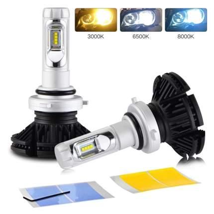 Светодиодные лампы X3 LED Headlight HB4 9006 Lumileds ZES 2G 9-32V 50W 6000Lm