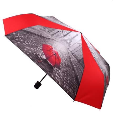 Зонт-автомат Flioraj 170102 FJ красный