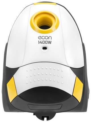 Пылесос Econ  ECO-1401VB White/Yellow/Grey